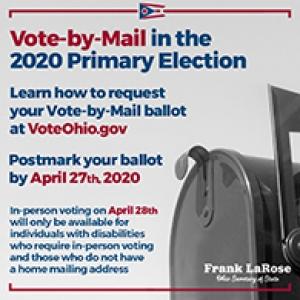 Ohio Primary voting graphic