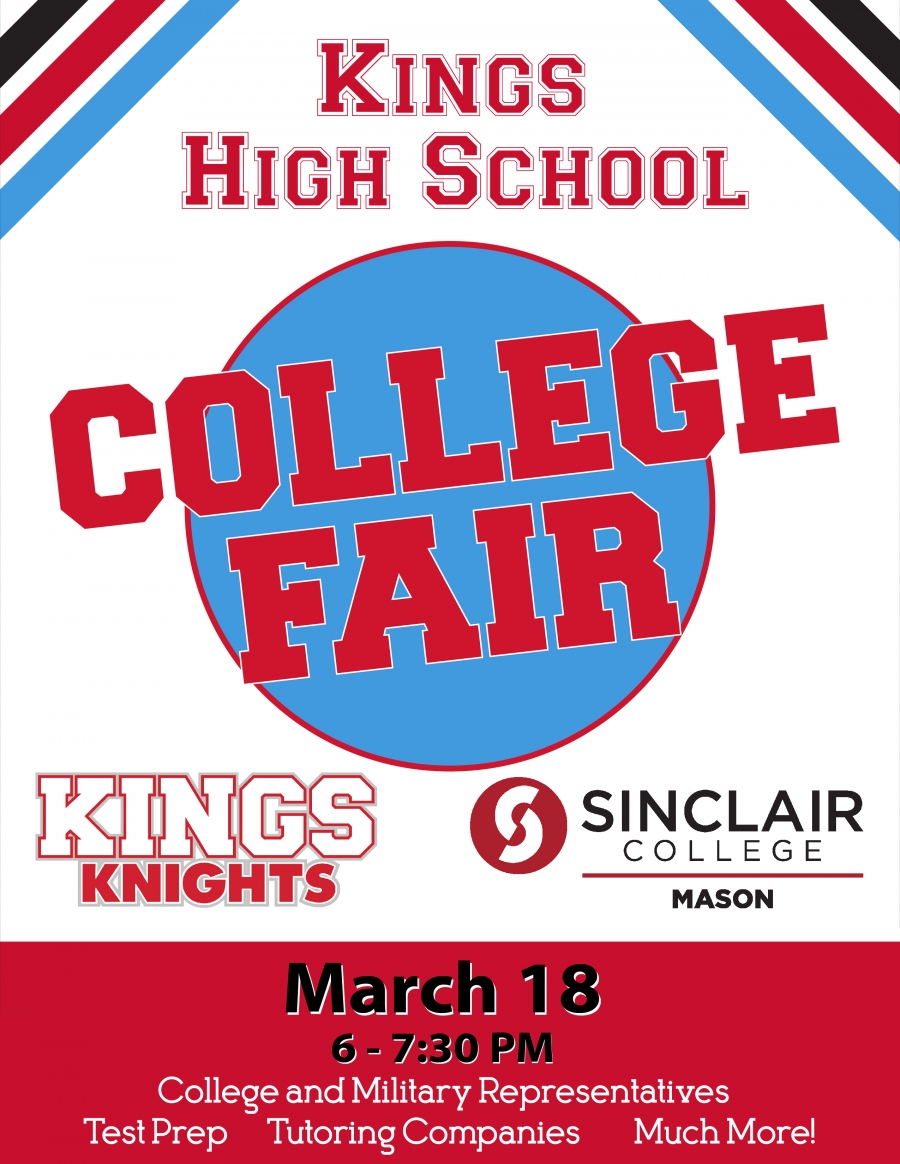 KHS College Fair graphic