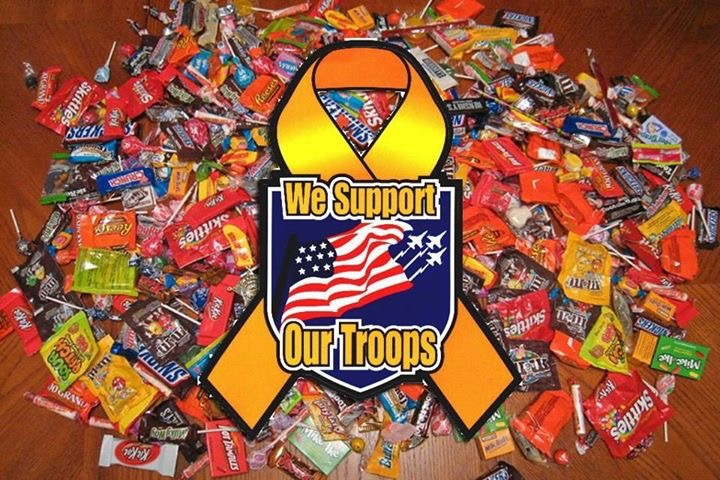 JFB Candy for the Troops Drive