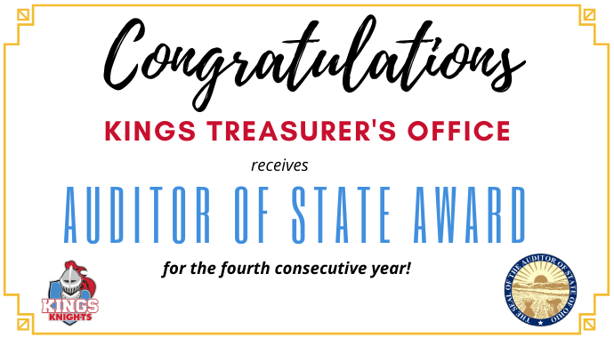 Auditor of State Award graphic