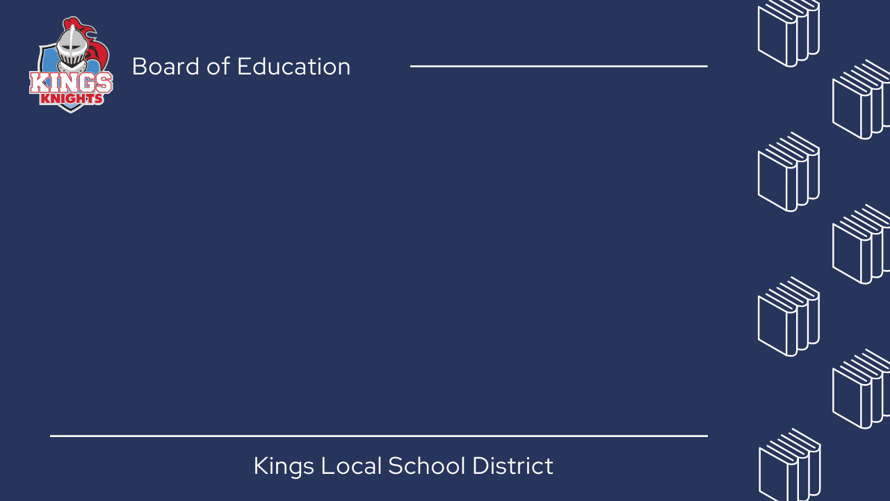 Kings BOE Virtual Meeting