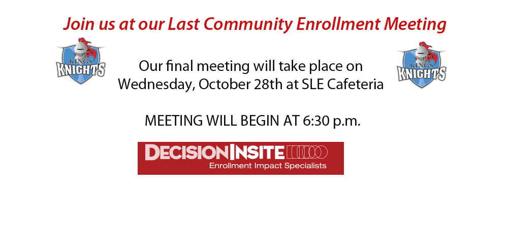 Community Enrollment Meeting graphic