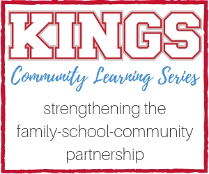 Kings Community Learning Series Graphic