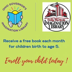 Warren County Imagination Library graphic