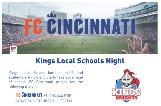 FC Kings night graphic