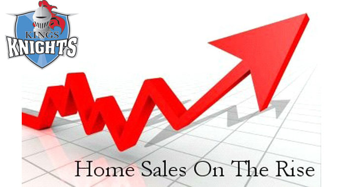 Home sales graphic