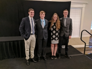 Four KHS students receive nominations to the military academies