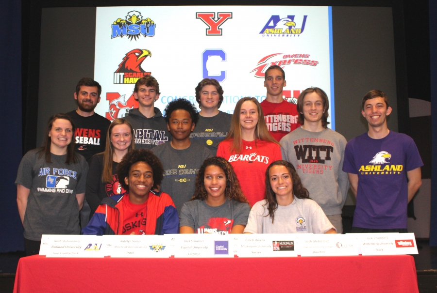 Kings Spring Athletic Signing Participants