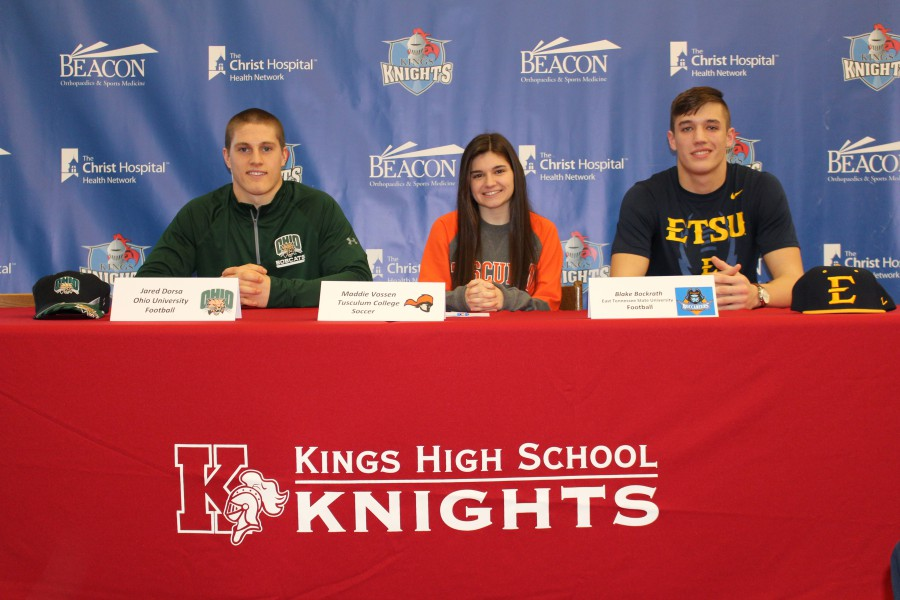 Kings Athletics Signing