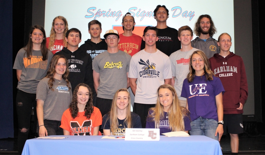 2019  Spring Athletic Signing