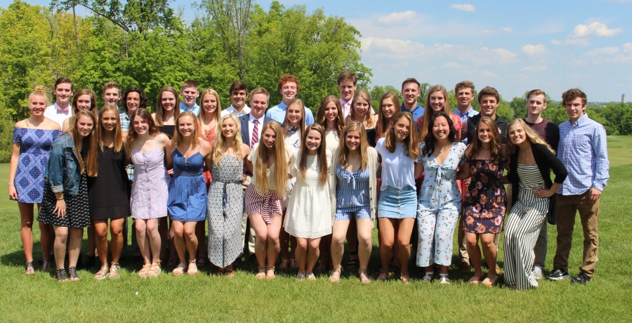 2018-2019 Senior Scholar Athletes