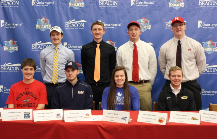 8 students sign National Letters of Intent