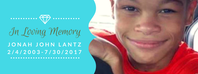 In loving memory of Jonah Lantz graphic