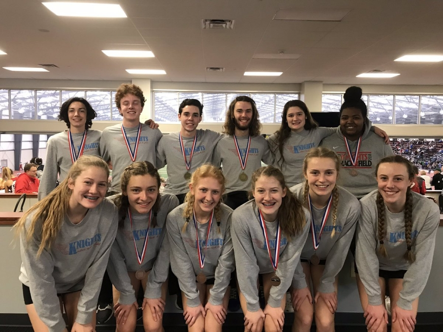 KHS Indoor Track State Championship Team