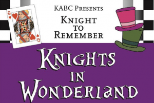 KABC Knights in Wonderland Graphic