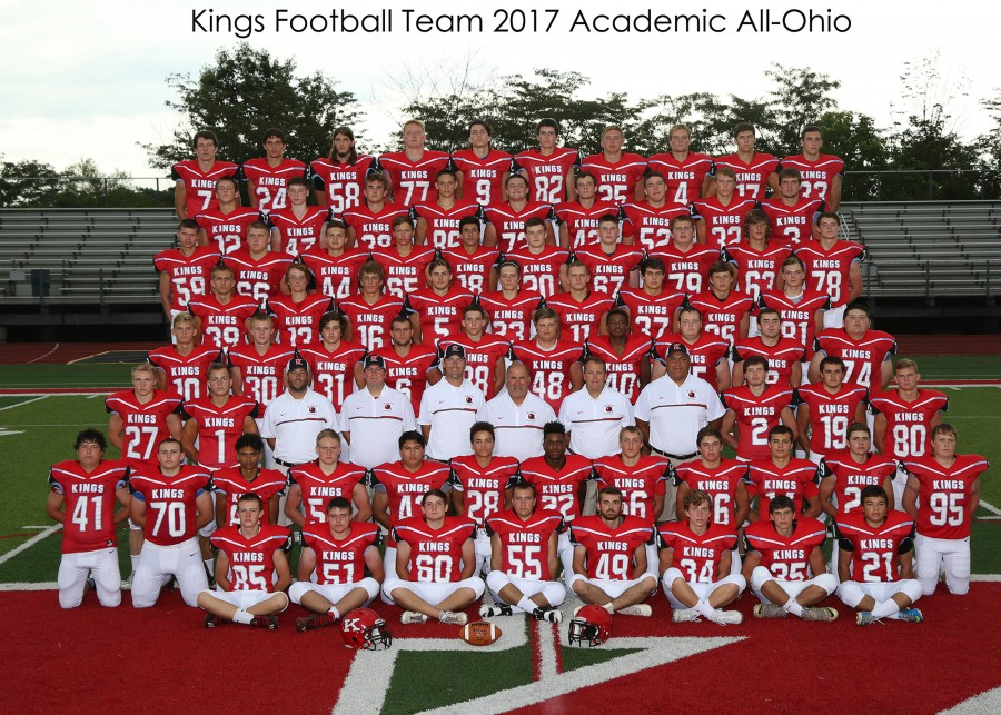 KHS Football Academic All Ohio Football Team