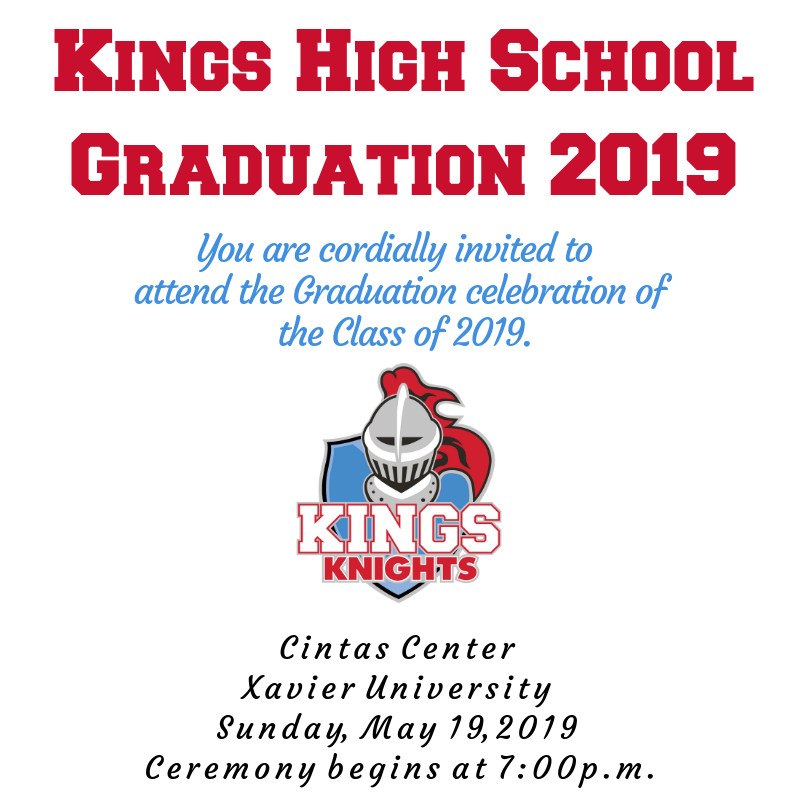 KHS Graduation invite