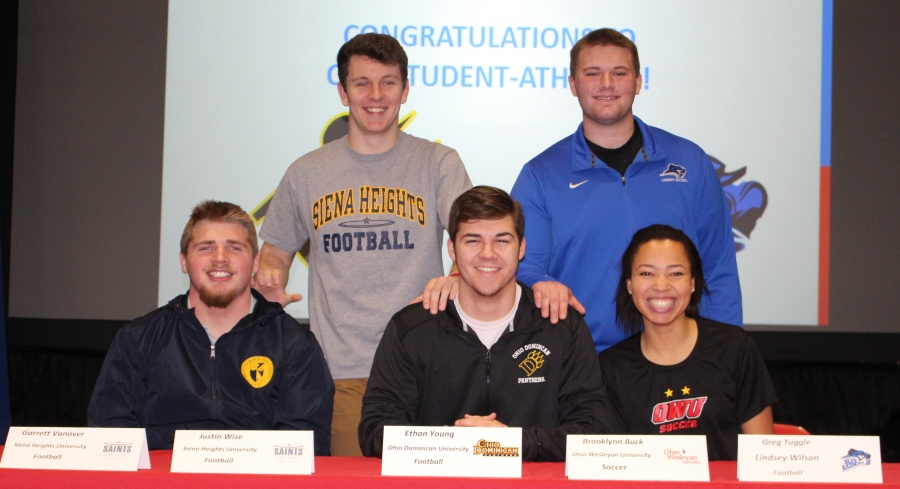 Kings Student-Athletes Winter Signing Day picture