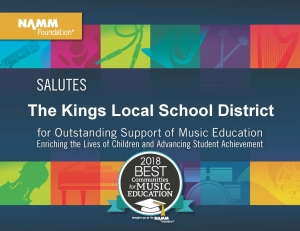 Kings A Best Community for Music Education