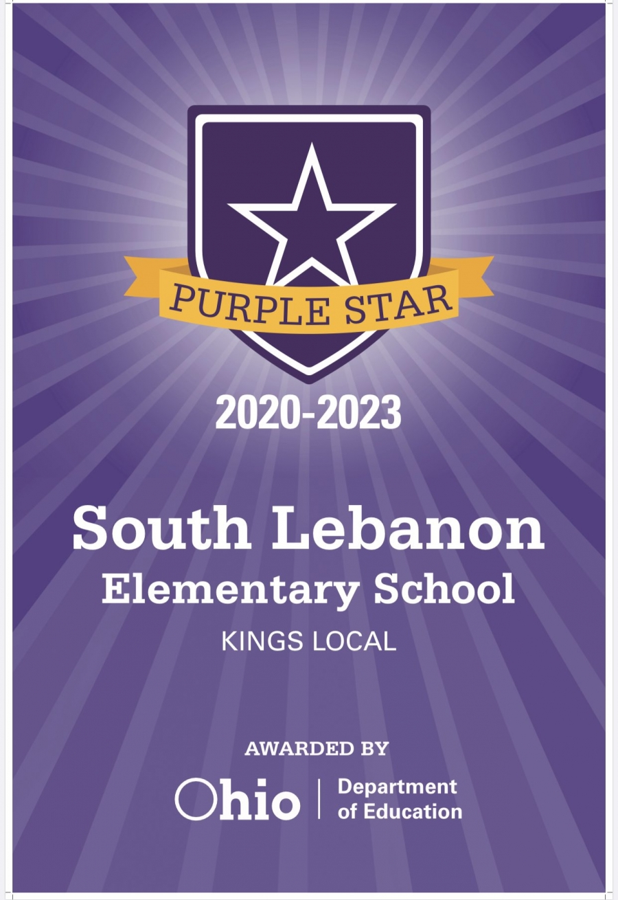 Purple Star Award SLE graphic