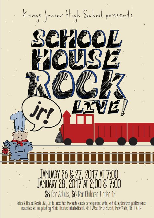 School House Rock, Jr. Flyer