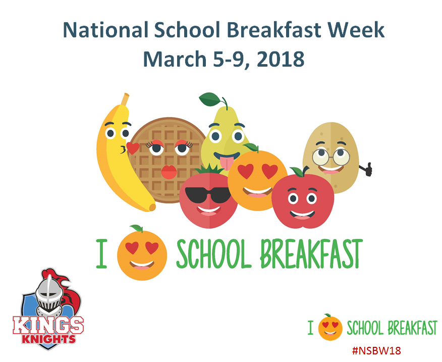 National School Breakfast Week Graphic