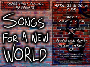 Kings Theatre Show Songs for a New World