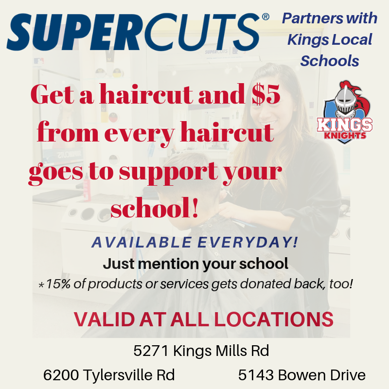 Supercuts haircut promotion