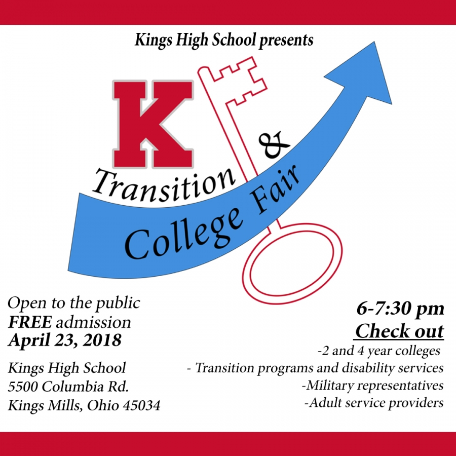 KHS College and Transition Fair Graphic