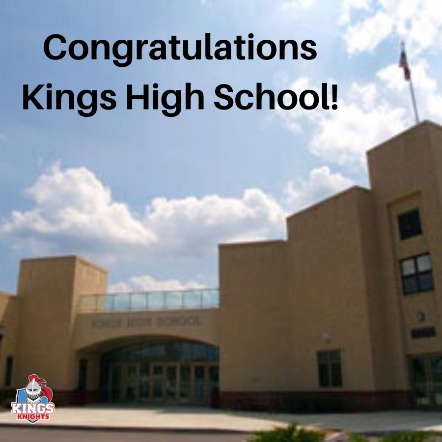 Kings High School building graphic