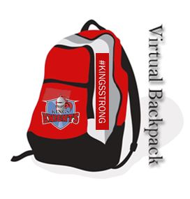 Virtual backpack graphic