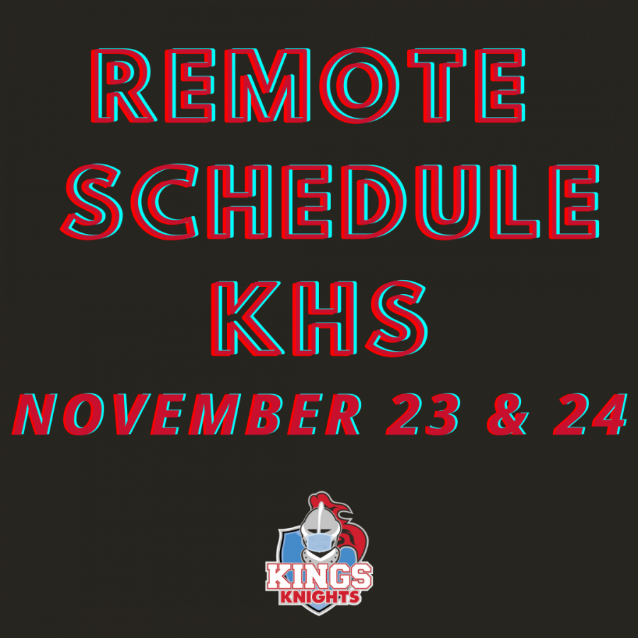 REMOTE LEARNING DAYS FOR KHS