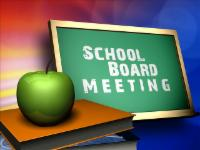 Kings School Board Meeting graphic