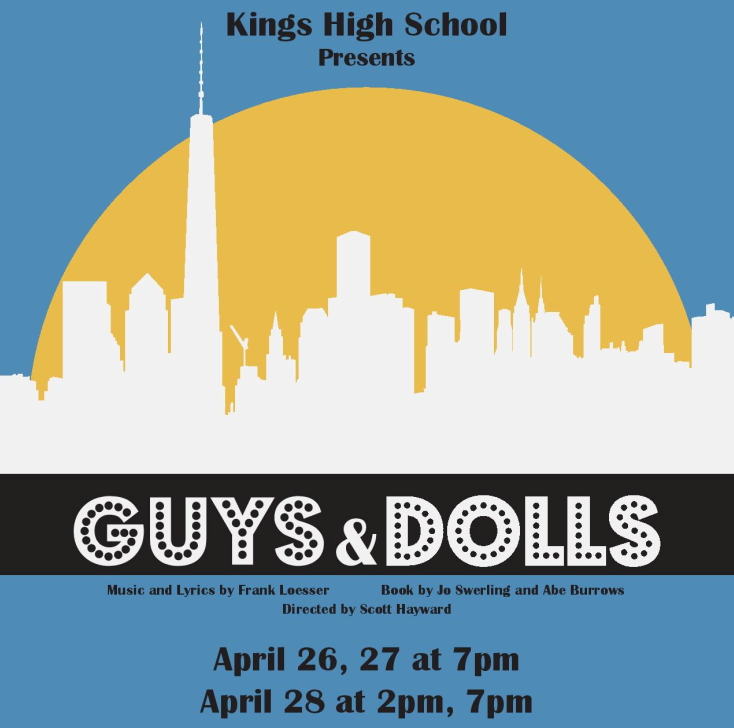 Guys and Dolls graphic
