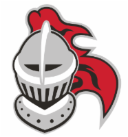Knight helmet graphic