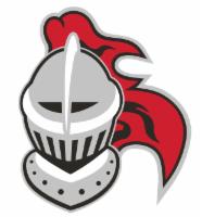 Knight helmet graphic