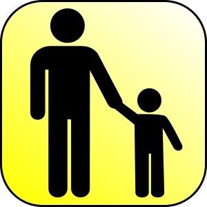 Parent-left child-right graphic