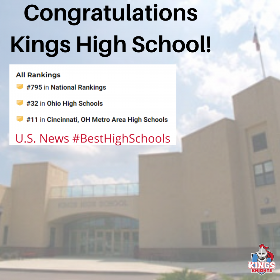 US News & World Report Best High Schools Kings High School