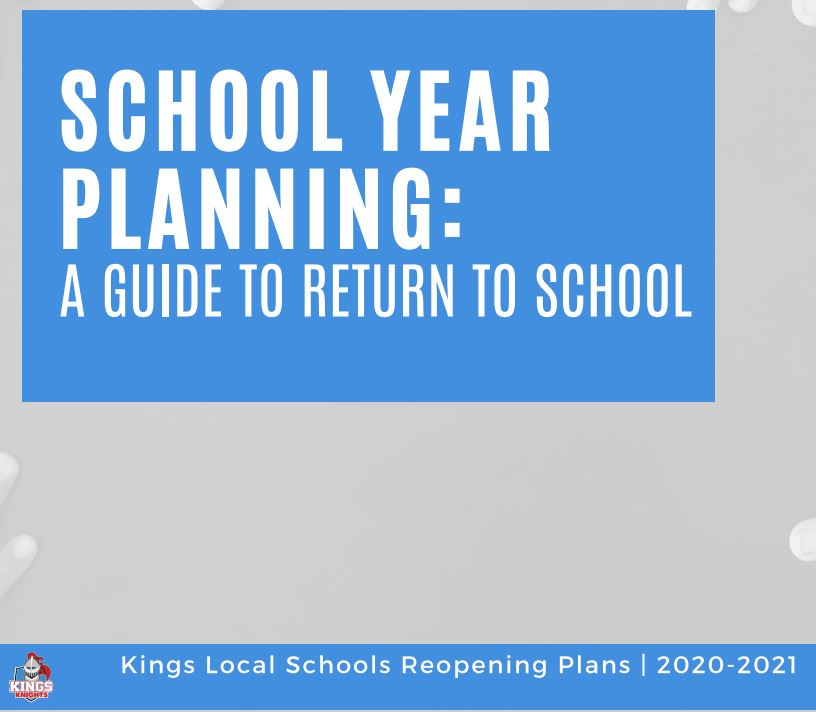 Kings Reopening plan graphic