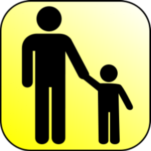 Parent child reunification graphic