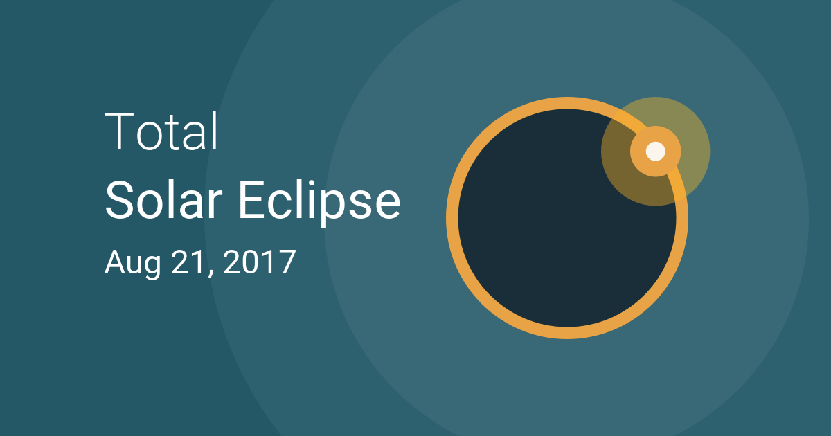 Solar Eclipse, August 21, 2017 graphic