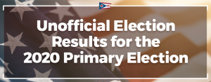 Unofficial Election Results graphic