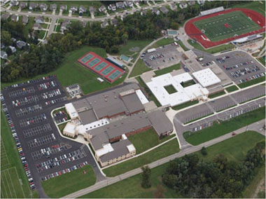 Aerial image of Kings High School