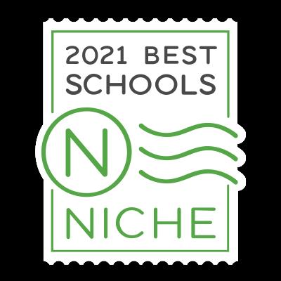 Niche 2021 badge