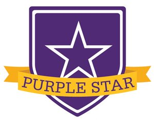 Purple Star graphic